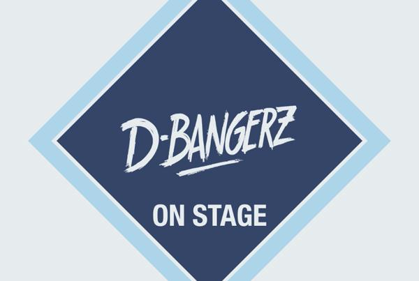 On stage D-BangerZ jingle