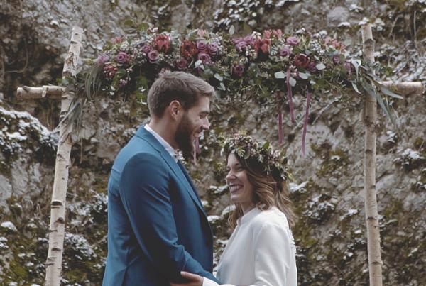 Winter inspi wedding shoot