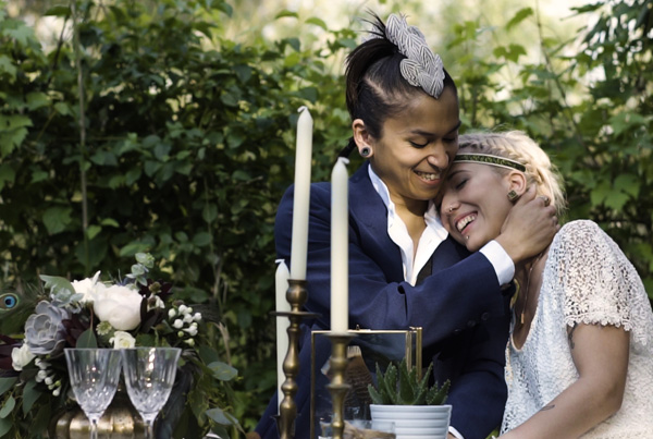 Boho wedding elopement