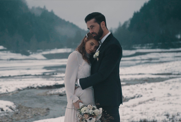 Mineral wedding elopement